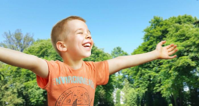So ist es besser: Kind im Glück!