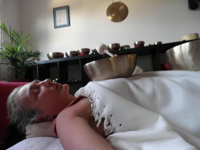 Klangmassage-Therapie